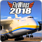 Flight Simulator 2018 FlyWings Free(飞行模拟器)